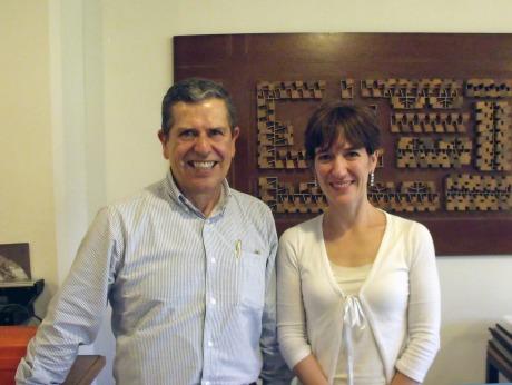Ricardo and Anibella Velez