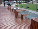 seating along the Planetario