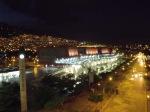 night view from metro