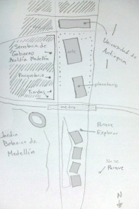 rough sketch of area
