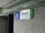 typical Aula signage
