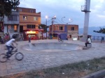 Skate Park used by Bicyclists