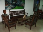 Colombian Colonial furniture